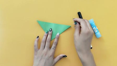 手工折纸教程,热带鱼的折法,生活折纸视频教程