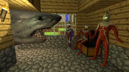 GMOD游戏奥特曼会害怕被鲨鱼吃掉吗?