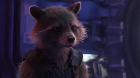 复仇者联盟:雷神现在是孤家寡人,火箭浣熊可怜他就给了颗眼珠子