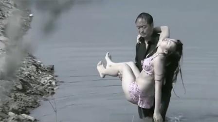 女大学生去水库游泳,不料却被农村大叔盯上
