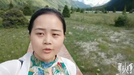 新疆伊犁昭苏夏塔景区,草原古道冰山峡谷,应有尽有