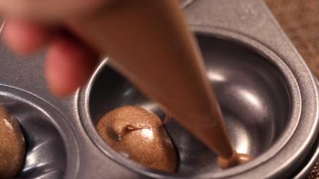 云石蛋糕的做法,为放暑假的孩子们准备可爱的早餐