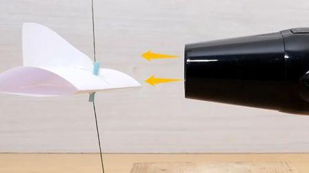 几百吨重的飞机怎么起飞?老外用吹风机详解机