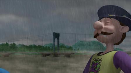 高铁英雄:妈耶,你是雷神下凡么,一个喷嚏摧毁一座桥