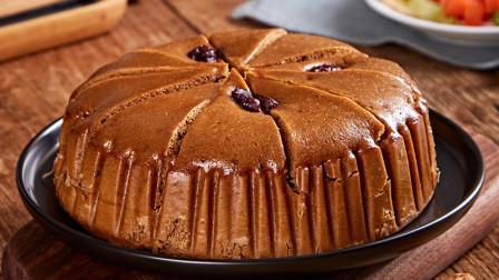 红糖大枣发糕的做法,松软香甜比蛋糕还好吃,学会了自己在家做