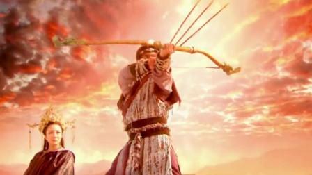 后羿射下九个太阳,没想到全部掉入东海,竟让龙宫遭遇灭顶之灾!