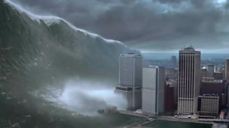 经典灾难片《天地大冲撞》,彗星撞击地球,纽约瞬间被摧毁