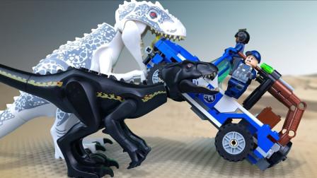 乐高Lego:我们如何抓住野外的侏罗纪恐龙呢?