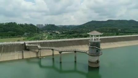 航拍东莞清溪湖 一个山清水秀, 既美丽又有人气的地方