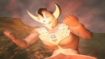 奥特曼格斗进化4 雷德王大战改造雷德王谁会获胜