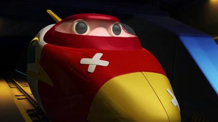 高铁英雄:安彤一声惨叫,大家的心开始慌了,紧急出动