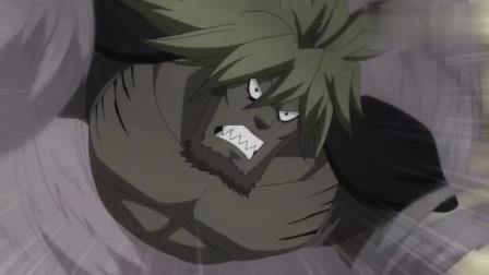 妖精的尾巴:暖男拉库萨斯,受伤只会自己扛着永远不会让队友担心