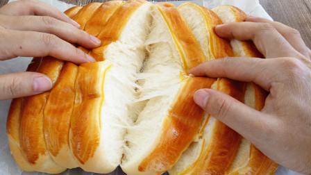 不是所有高筋面粉都能做面包,照这个配方做拉丝完美,胜过烘焙店