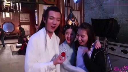 《春花秋月》花絮:李宏毅这样抱赵露思,还一把打掉她手里的东西?