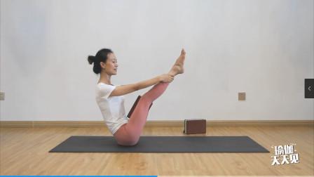 借助瑜伽砖带你练习双腿腿部力量,你们确定不行动起来么?