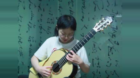 《泗洪学吉他》杨曼 在那遥远的地方7.25 天音吉他