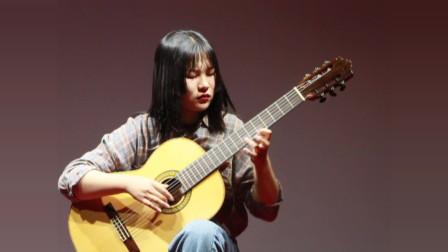《泗洪学吉他》弗拉门戈 马叶欣 天音吉他