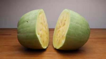 吃起来没有甜味的三白瓜,糖度值只有5.6和黄瓜差不多