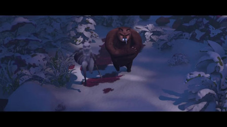 熊大叔他们没找到啦啦,反而找到了雨果的爸爸,但是他有点惨啊!
