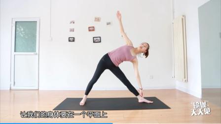 又是一组拉伸全身关节的瑜伽动作,你确定你们不心动么?