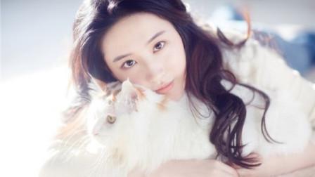 刘亦菲素颜出镜亲吻猫咪,画面温馨又有爱,自侃:丑丑更健康