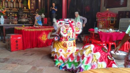 2019 平地觀音三娘寶誕 - 東塱黃流遠堂 醒獅參拜黃氏大宗祠