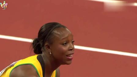 伦敦奥运会女子100米决赛,真是百看不厌!简直不要太精彩了