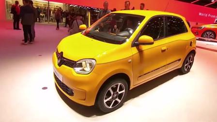 雷诺Twingo微型车,配多种动力,车重仅950公斤, 好酷啊