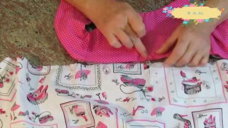 连衣裙DIY制作方法和裁剪方法图,女孩连衣裙制作教程