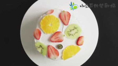 甜品烘焙:在家就能做的蓝莓酱水果蛋糕了解一下,网友:好想吃
