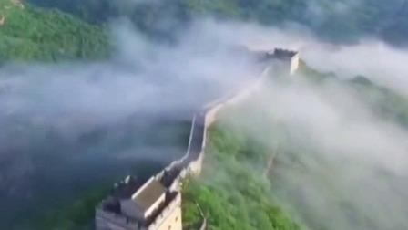超级新闻场 2019 :雨后长城风景如画 云雾升腾似蛟龙出海