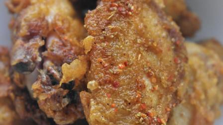 太原延庆观炸鸡1cm超厚鸡排,低脂还不油腻,刚炸出来烫手也要吃