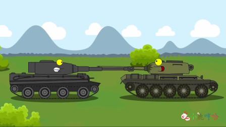 坦克世界搞笑系列:通知开会,对抗毒液利维坦克!检查所有装备,偷袭!