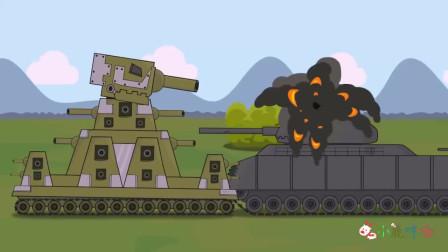 坦克世界搞笑系列:终结者坦克出击,KkV4t坦克还需要拯救吗?直接暴击!