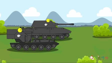 坦克世界搞笑系列:乔装的细作坦克,真假难分!接受坦克训练考核基地训练!