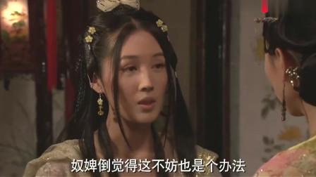 丫鬟代替皇后在皇上面前跳舞,不想到面巾掉落,皇上看花了眼