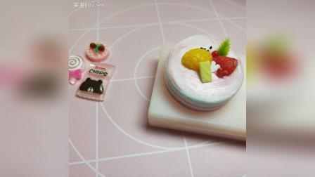草莓蛋糕教程