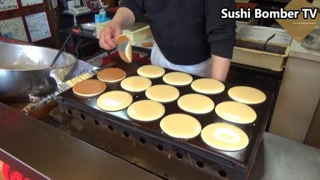 哆啦A梦的铜锣烧!!!日本街头美食,好想要一个呀