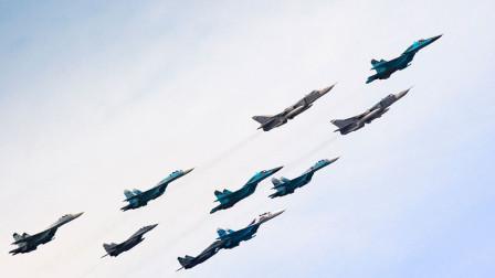 俄罗斯宣布这消息,数百架战机飞抵克里米亚,乌克兰开始担忧了