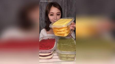 甜品盒子千层蛋糕