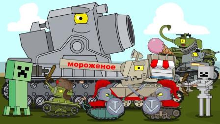 坦克世界搞笑系列:要开打了,这个炮口有点大,工程队上去修整一下,加大口径!