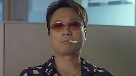 TVB男神黎耀祥演大佬,痞帅痞坏的,真是拽的掉渣