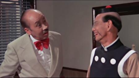电梯里全是女人,老夫子举起双手表示清白,这段笑了