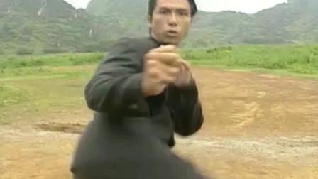 《精武门》陈真和九鬼这段打戏,可以说是甄子丹动作的巅峰之作