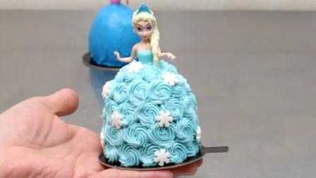 能拿在手里的迷你公主蛋糕来啦!做法简单,你知道她们的名字吗?