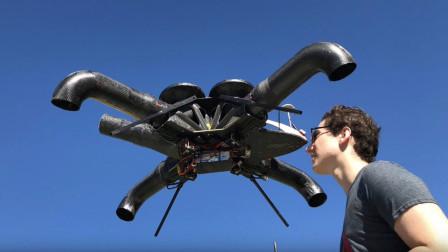 高中生发明最安全无人机,外表没有螺旋桨,安全性大大提高