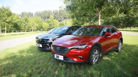 对比测试-领克02 vs 丰田C-HR vs 马自达CX-4