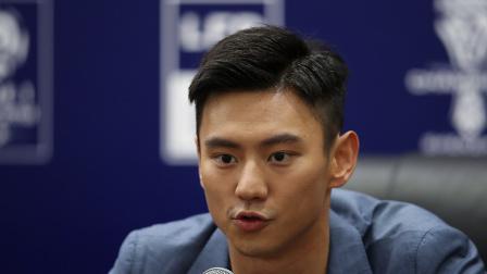 宁泽涛答PP体育记者提问:希望带动青少年热爱足球 关注法甲