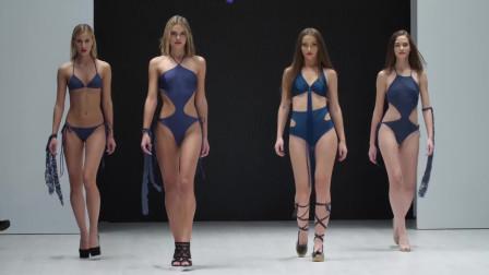 白俄罗斯时装秀 TOTTI 发布会,时尚泳衣,小姐姐们真美丽