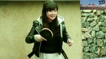 """福原爱与老公打乒乓比赛,爱酱直呼:你的打法好""""恶心""""!"""